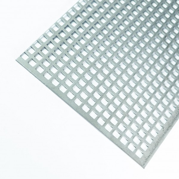 Lochblech aus Edelstahl 1.4301, t= 1,5mm
