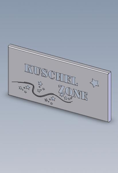 """Wandbild - """"Kuschelzone"""""""